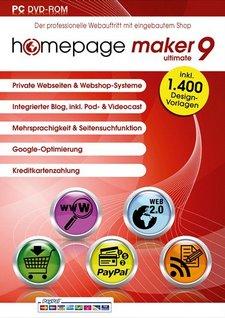 Homepage Maker 9 ultimate