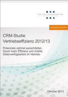 Deckblatt CRM-Studie Vertriebseffizienz